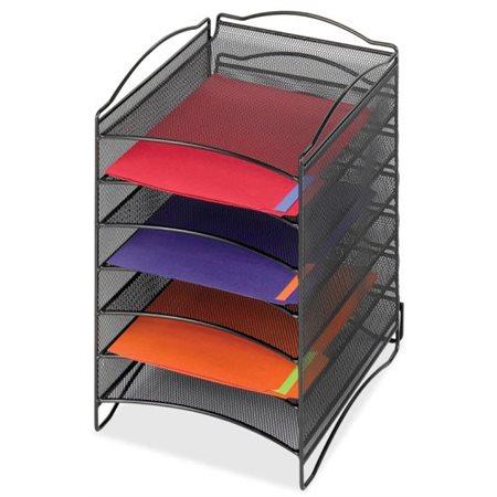 Classeur  horizontal empilable Onyx™ 6 compartiments, 10-1 / 4 x 12 -3 / 4 x 15-1 / 4 po H.