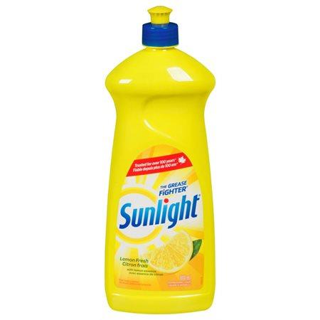 Détergent liquide pour vaisselle Sunlight Standard 800 ml