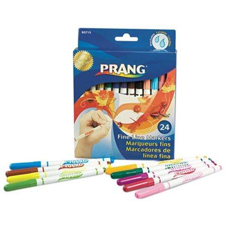 Marqueurs lavables Prang paquet de 24