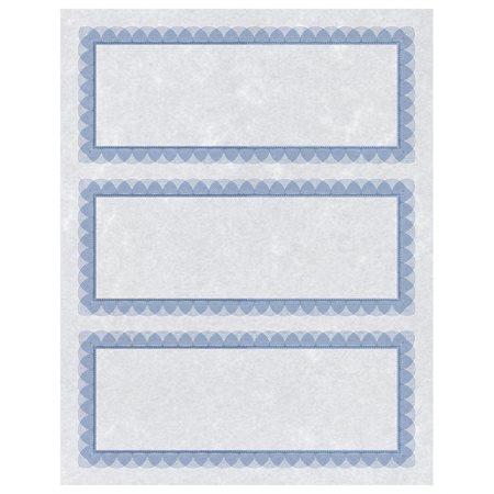 """Certificats-cadeaux """"St.James Design Bond"""" Certificats-cadeaux bleu-argent"""