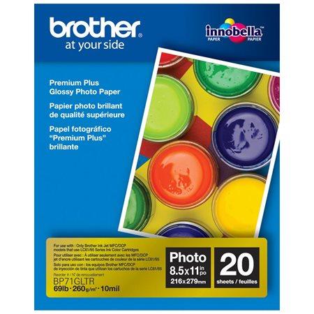 PAPIER PHOTO BROTHER PREMIUM PLUS 8.5X11