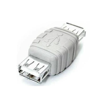 Adaptateur USB A vers A - F / F - Blanc