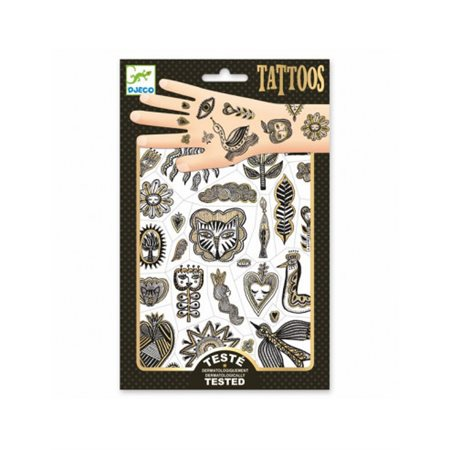 Tatouages: Golden Chic