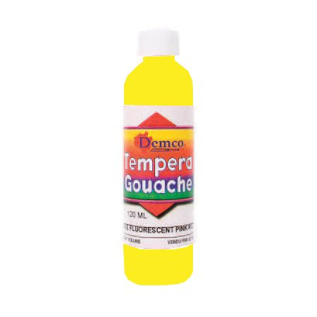Gouache fluo 237 ml; jaune