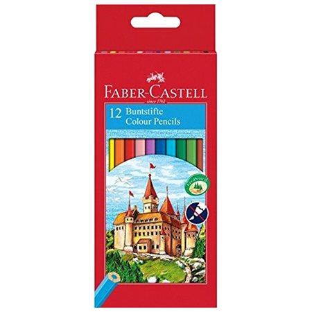 Crayons à colorier Castle pqt.12