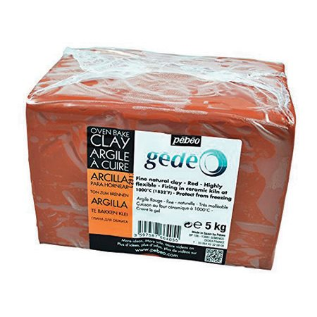 Argile rouge à cuire (5 kg)
