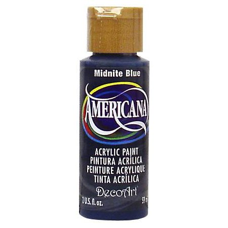 Peinture acrylique Americana 2 oz - Bleu minuit