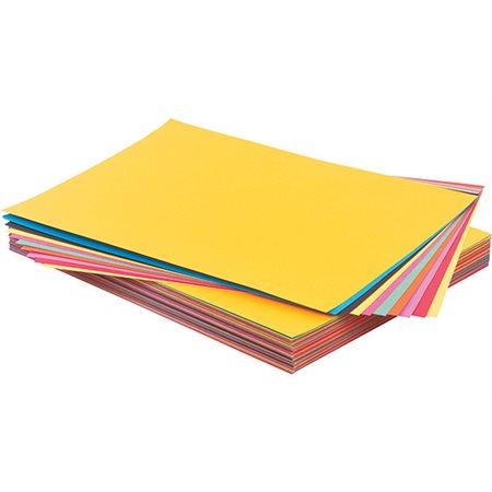 Carton Brillocolor 8 1 / 2 X 11 (100): Jaune soleil