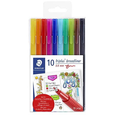 Crayons Broadliner, ensemble de 20