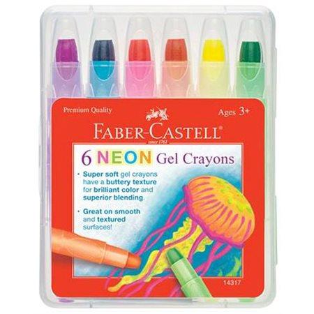 Crayon de cire néon gel