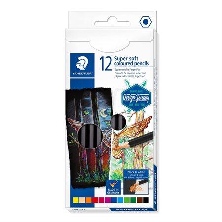 Crayons de couleur super tendre (ens. de 12)