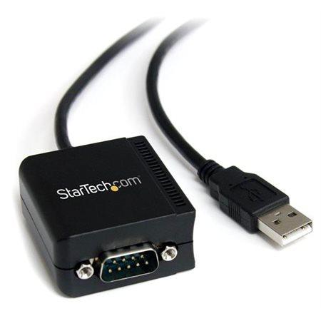 Câble Startech DB9 mâle à USB mâle