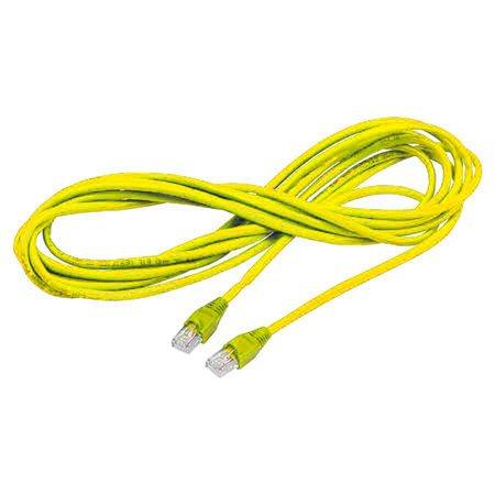 Câble réseau CAT6 - jaune (6')