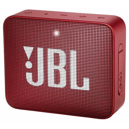 GO2 - Mini enceinte portable BT, étanche rouge