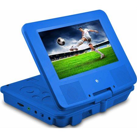 """Lecteur DVD portatif Ematic 9"""" - Bleu"""