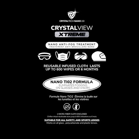 Crystalview Xtreme traitement antibuée