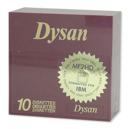 DISQUETTE DYSAN 2MB 3.5'' @10