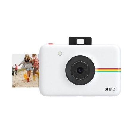 Camera Polaroid snap digital instant blanc