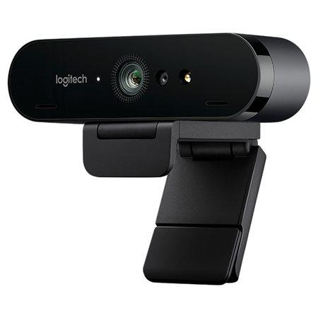 Webcam Logitech Brio avec microphone