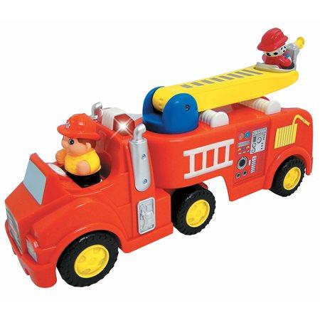 Camion de pompier lumière et son