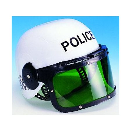 Casque de police