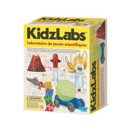 Laboratoire de jouets scientifiques
