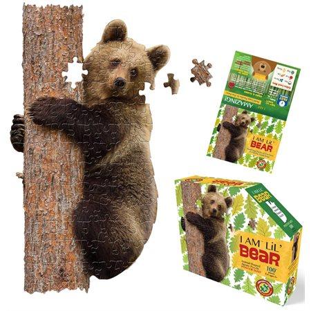 Casse-tête: JE SUIS - Petit ours (100)
