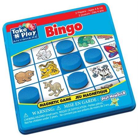 Bingo bilingue - Jeu magnétique