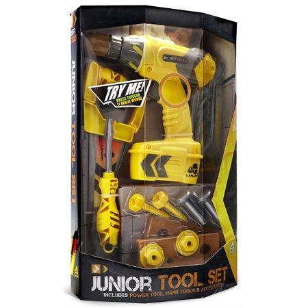 Tuff Tool Jr. perceuse et accessoires