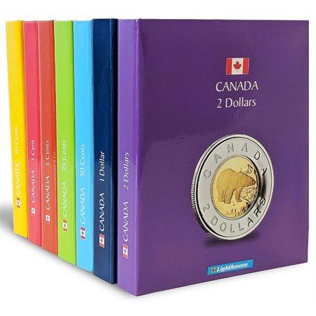 Album pour pièces de monnaies $2.00