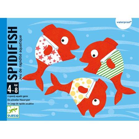 Jeu de cartes aquatique: Spidifish