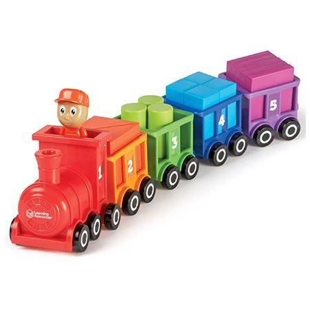 Train chiffres et couleurs Choo-Choo
