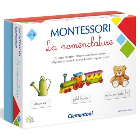 Montessori: La nomenclature