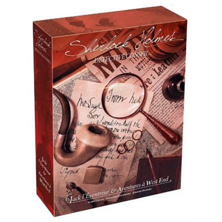Sherlock Holmes: Jack l'Éventreur et aventures à West End