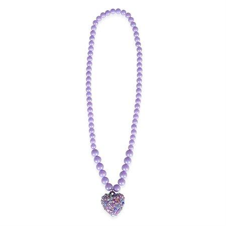 Collier Coeur en pierres