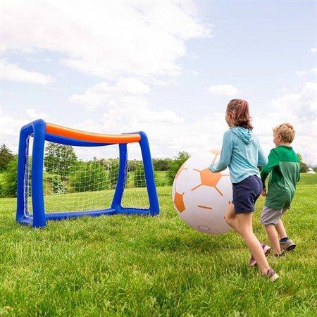 Ensemble de soccer gonflable