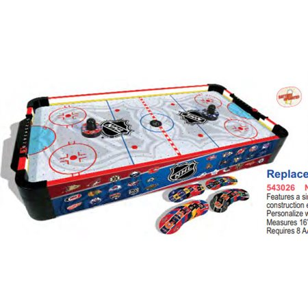 Table de air hockey de la LNH