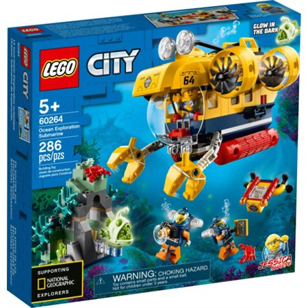 City: Le sous-marin d'exploration