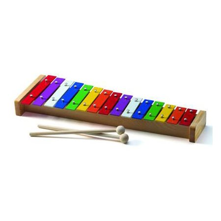 Xylophone en métal - 15 tons couleur