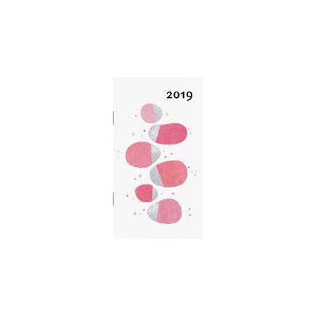 Agenda 2019 Mini Metal  /  1 semaine par page