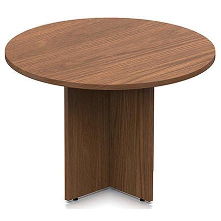 "TABLE RONDE 42"" DIAM. X 29""H MIEL AVANT"
