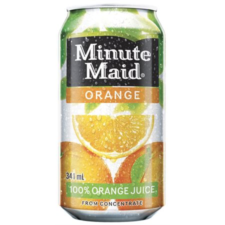 Minute Maid orange canette 355ml@12