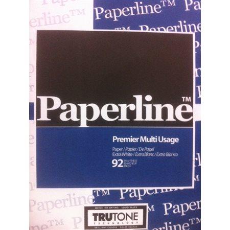 """Papier Paperline ou Multiplex 8.5x14"""""""