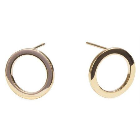 Boucles d'oreilles Halo: Or