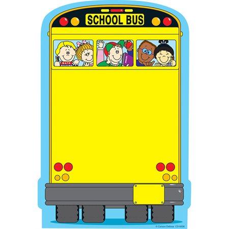Bloc-notes d'autobus scolaire