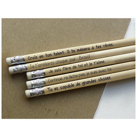 Ensemble de crayons Persévérance @ 6