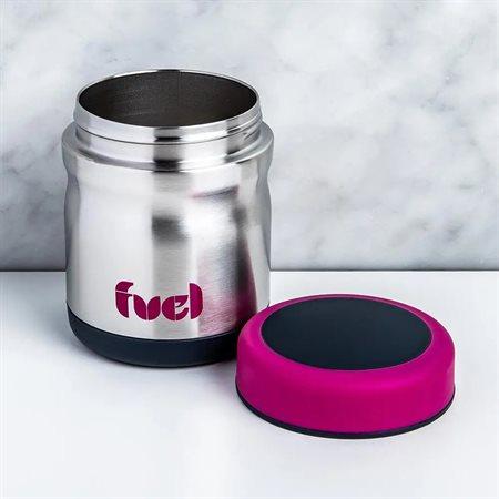 Contenant Fuel inox 450 ml couleur melon