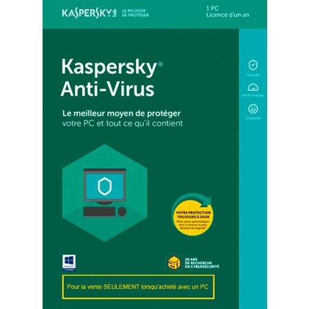 Kaspersky 2020 anti-virus 1 pc OEM
