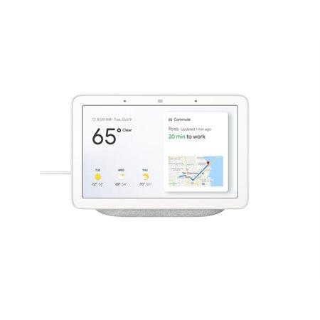Google Nest Hub avec Assistant, craie