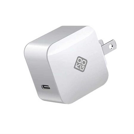 Chargeur Power Delivery USB-C 18W blanc